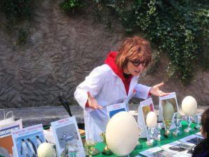 laboratorio uova Bioparco